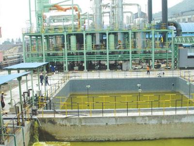 钢铁厂工业污水排放计量